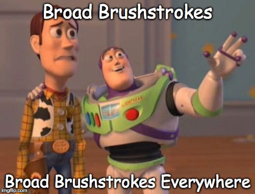 Buzz & Woody Broad Brushstrokes